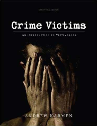 understanding violence and victimization 7th edition what s new in criminal justice books test bank for crime victims an introduction to victimology