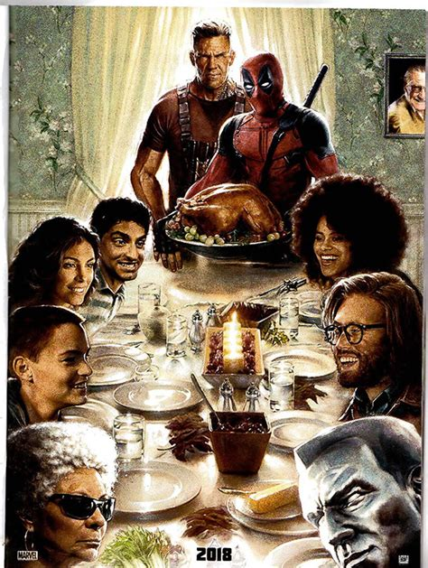 first deadpool 2 poster revealed