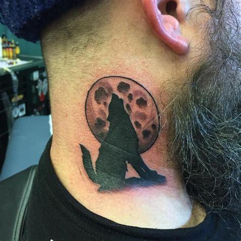 tattoo moon neck 37 lovely wolf neck tattoos