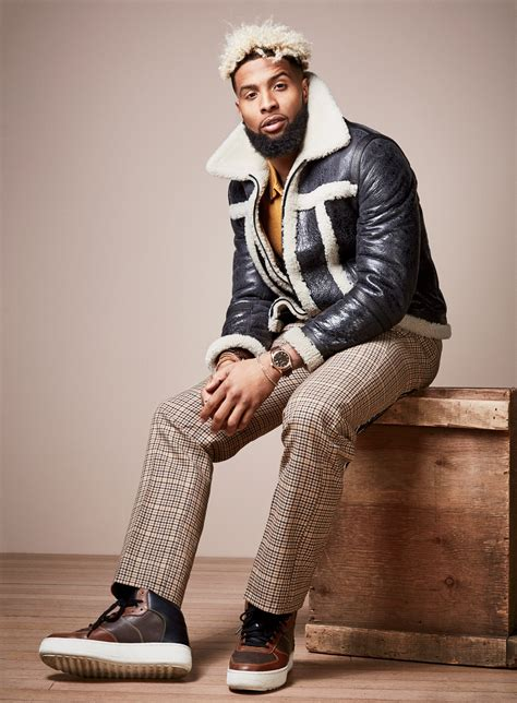 Odell Beckham Jr. Wears The Freshest Looks for This Fall Photos   GQ