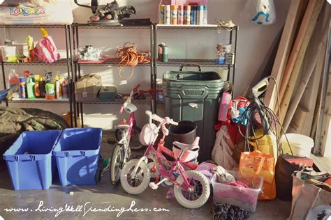 cleaning clutter garage clutter living well spending less 174
