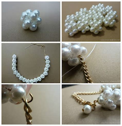 how make jewelry at home diy pearl necklace pictures photos and images for