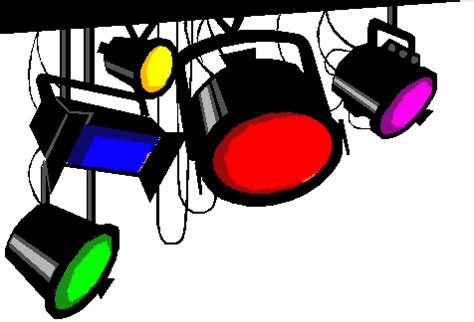 stage lights clip art lighting | clipart panda free