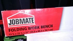 jobmate folding work bench jobmate folding work table