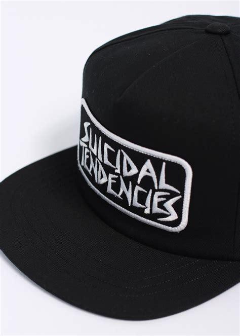 Topi Suicidal Tendencies Snapback 1 obey x suicidal tendencies x suicidal tendencies propaganda snapback cap black