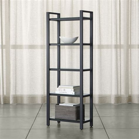 crate and barrel bookcase pilsen graphite bookcase crate and barrel