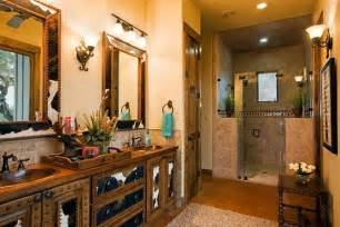 Western Bathroom Decorating Ideas Stylish Western Home Decorating Western Bathroom