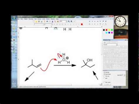 how to use chemdoodle curvedarrows wmv