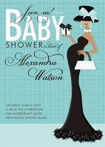 baby shower invitations with photo template templates