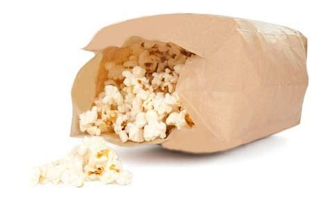 Popcorn In A Paper Bag In The Microwave - gluten free microwave popcorn in paper bag