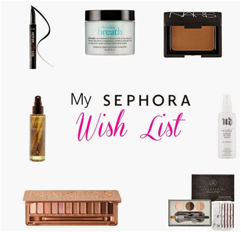 How Much Is On My Sephora Gift Card - my sephora wish list just a trace