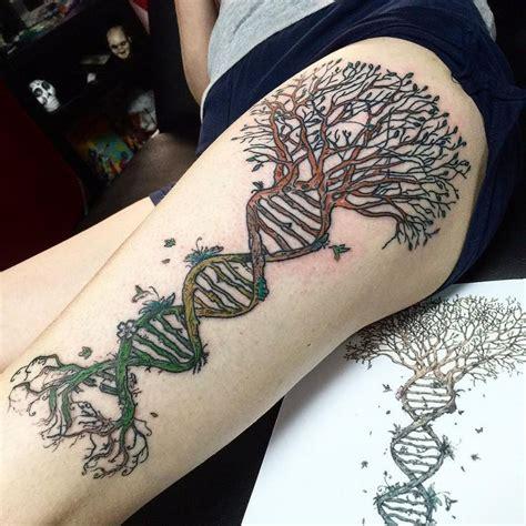 dna tree tattoo dna tree of search tattoos