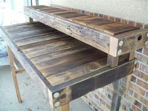 standing work bench 17 best images about pallet work table on pinterest