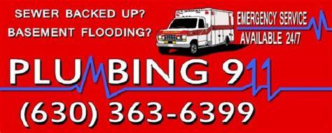 plumbing 911 emergency plumber services county