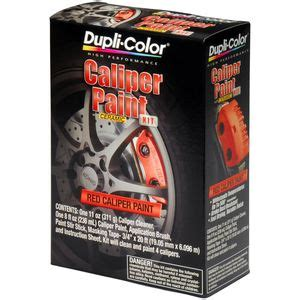 dupli color half pint aerosol brake caliper kit bcp400 read reviews on dupli color bcp400