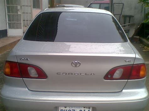Toyota Corolla 2000 Model Price Clean Tokunbo Toyota Corolla 2000 Model A Give Away