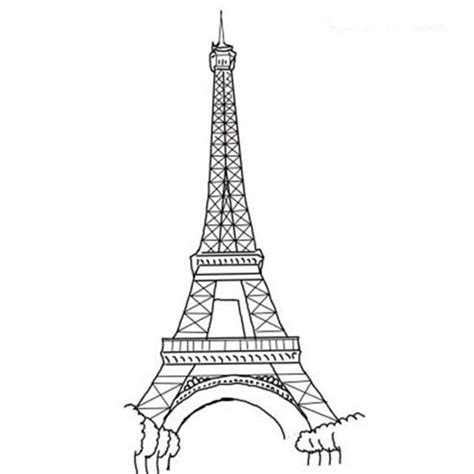 eiffel tower printable coloring page free printable eiffel tower coloring pages for kids pictures