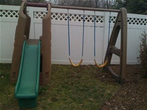 step one swing set selling step2 swing set