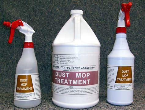 aci dust mop treatment