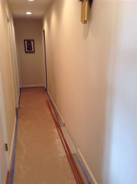 paint color for narrow hallway