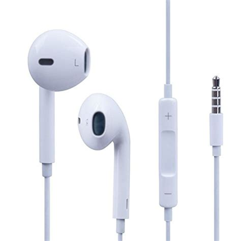 Apple Earphones High Quality For Iphone 5 Oem apple iphone 5 earbuds genuine oem with remote and mic apple earbuds new design is best earbuds