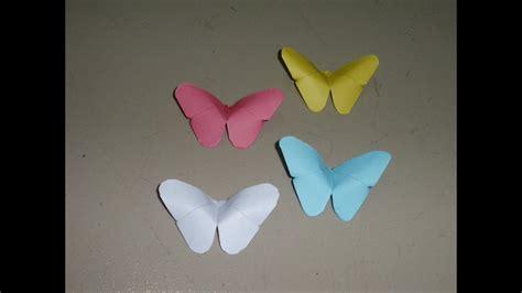 basteln origami schmetterling falten mit papier
