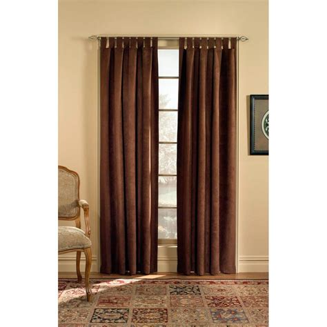 microsuede curtains chf industries microsuede tab top curtain panel curtains