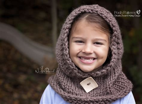 knit hooded cowl pattern hooded cowl knitting pattern hooded scarf