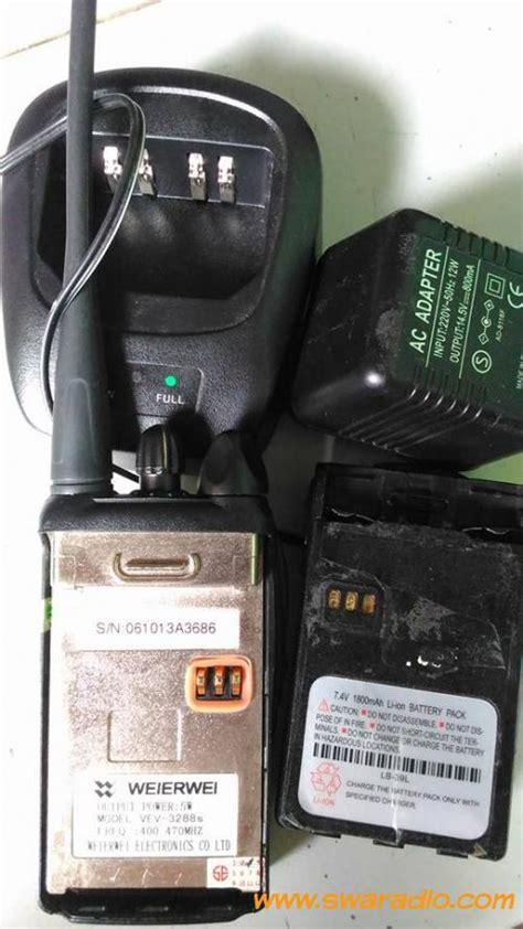 Klip Ht Weirwei 3288 dijual ht weierwei model vev 3288s freqwensi 400 470mhz uhf swaradio