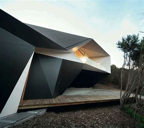 Origami Roof - origami inspired architecture 14 geometric structures