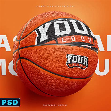 Basketball Ball Photoshop Template Sports Templates Free Basketball Photoshop Templates