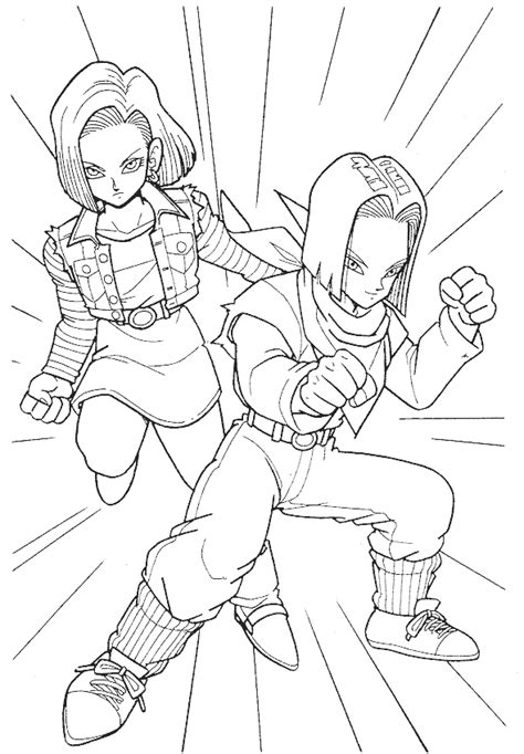 dragon ball z coloring pages of trunks free coloring pages of cell of dragonball z