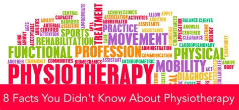 8 Facts About by Facts About Physiotherapy