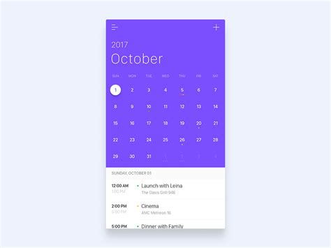 design calendar app freebie calendar animation by jae seong jeong dribbble