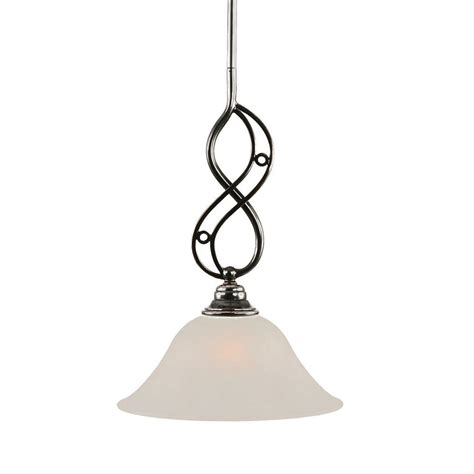 home depot hanging ls filament design 1 light white glass steel pendant cli ls