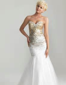 Related post in perfect design white gold prom dress and new model