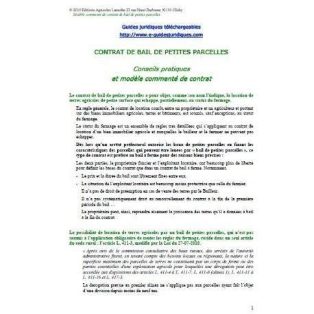 Modele Lettre Demande De Terrain Agricole