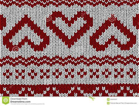 norwegian pattern vector norwegian pattern hearts christmas vector stock vector