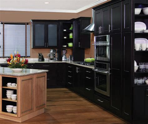 Java Kitchen Cabinets by Dover Cabinet Door Style Modified Full Overlay Cabinetry