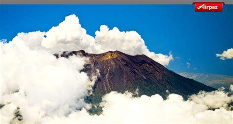 airasia gunung agung puncak tertinggi pulau dewata di gunung agung bali