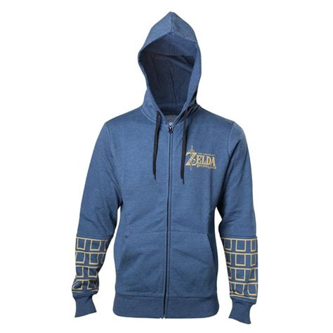 Sweater The Legend Of Breath Of The Hoodie breath of the gold logo hoodie for only 163 53 89 at merchandisingplaza uk