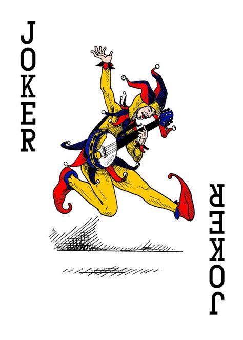 25 best ideas about joker playing card on pinterest