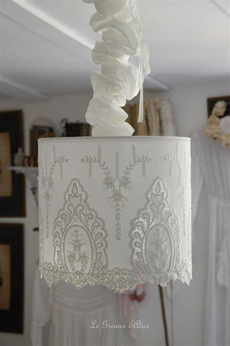 suspension decorative nouveaux tissus romantiques shabby le grenier d
