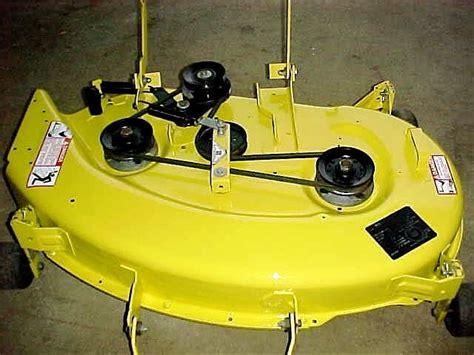 deere 54 inch mower deck tension deere 175 w 38 quot mower deck mytractorforum the
