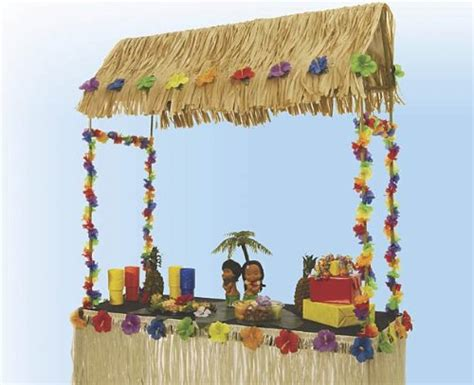 Table Top Tiki Bar Hut by Tabletop Tiki Hut 55 Inches X 22 Inches X 56 Inches Rich