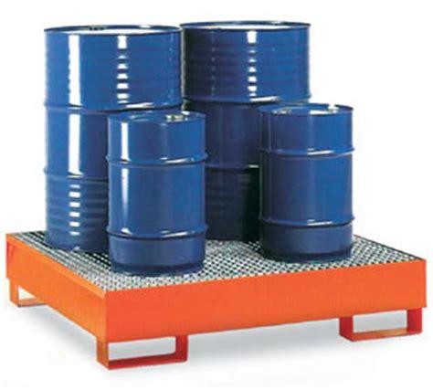vasca raccolta olio vasche di raccolta per olio diluenti con griglia 2 fusti