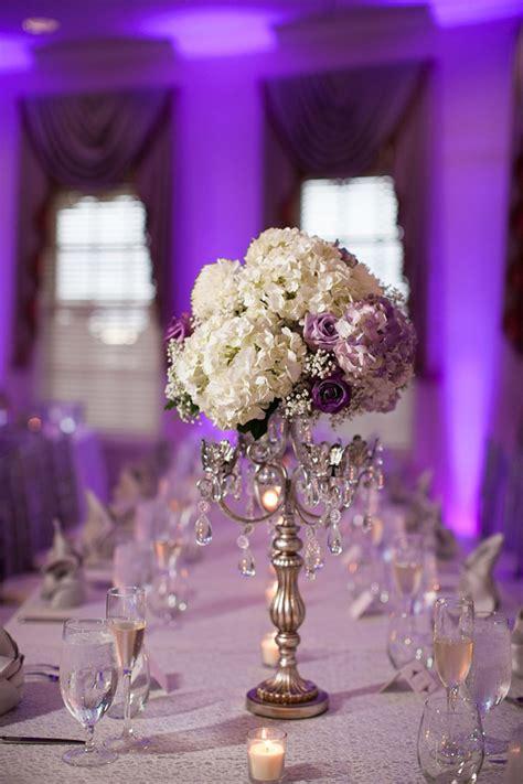 the centerpieces lavender and white wedding centerpiece mon cheri bridals