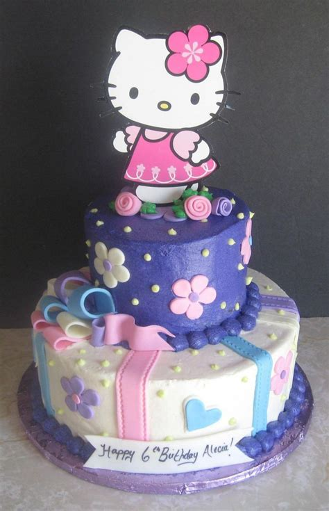 hello kitty themed cake birthday cake for hello kitty image inspiration of cake