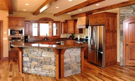 Kitchen Backsplash Ideas Cheap by Rustic Hickory Cabinets Kitchen New Lighting Rustic Hickory Cabinets Kitchen Pictures