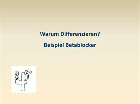 wann wirken betablocker differenzierung asthma copd